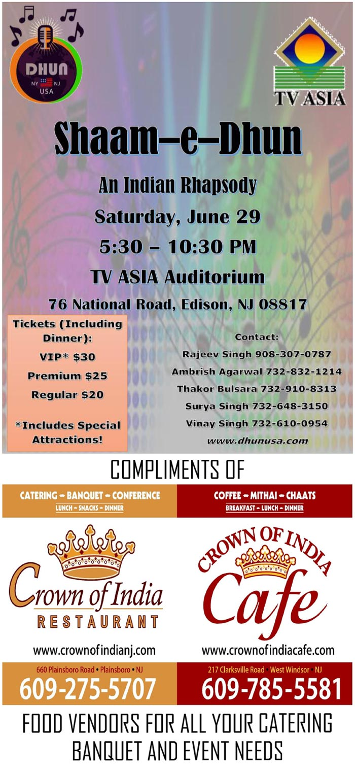 Crown Of India | Party Catering Events | Indian Restaurant NJ