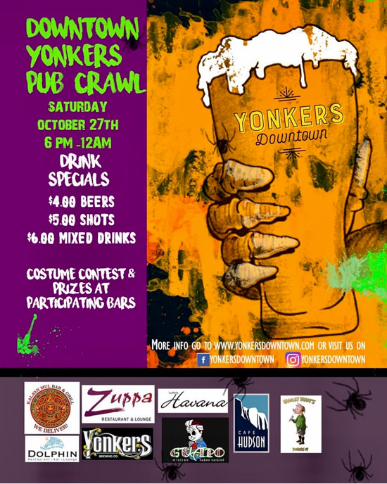 Downtown Yonkers Pub crawl