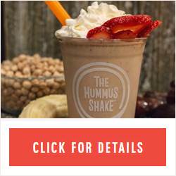 So, hummus milkshakes are now a thing