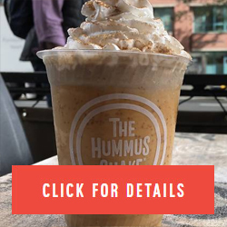 NEWSEATING You're gonna want to try this pumpkin pie hummus shake