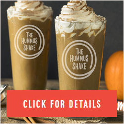 The Hummus & Pita Co. Adds Pumpkin Spice Hummus Shake
